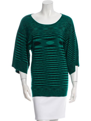 Michael Kors Cashmere Short Sleeve Top None