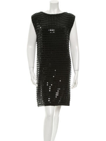 Michael Kors Embellished Cashmere Dress None