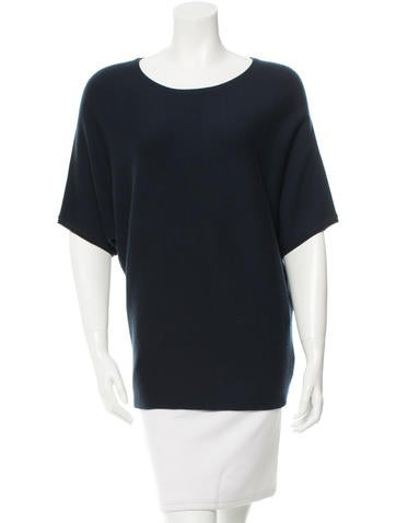 Michael Kors Short Sleeve Cashmere Top None