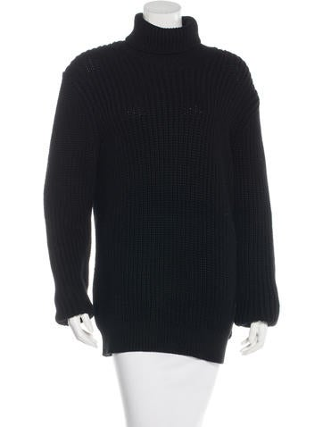 Michael Kors Rib Knit Turtleneck Sweater None