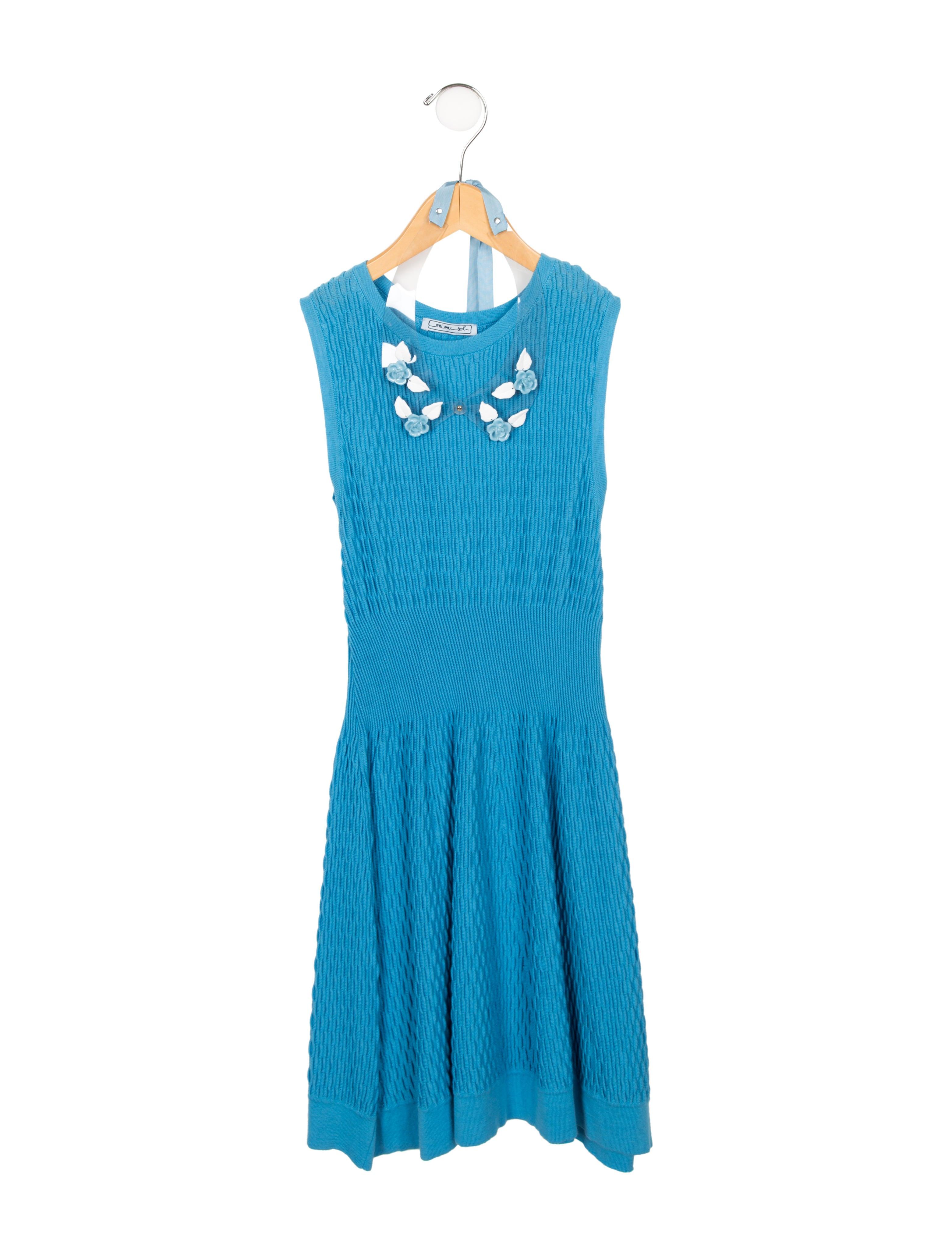 Knitting Dress For Girl : Mimi so girls rib knit dress mim the