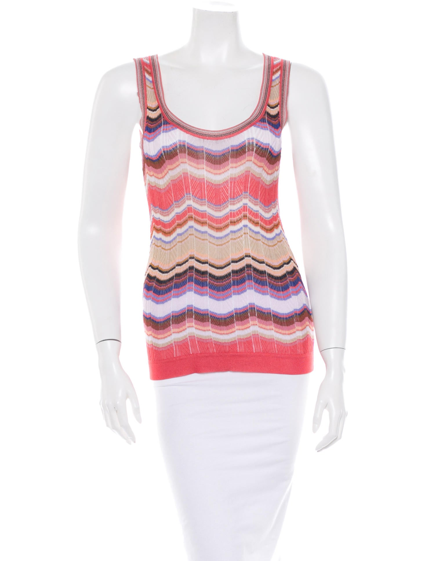 Missoni Knit Tank Top - Tops - MIS24498 The RealReal