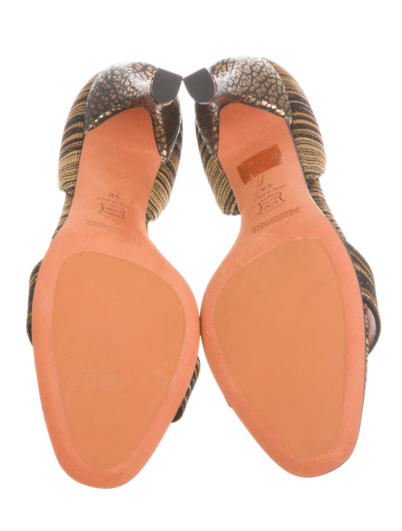 missoni sandals w tags shoes mis28329 the realreal