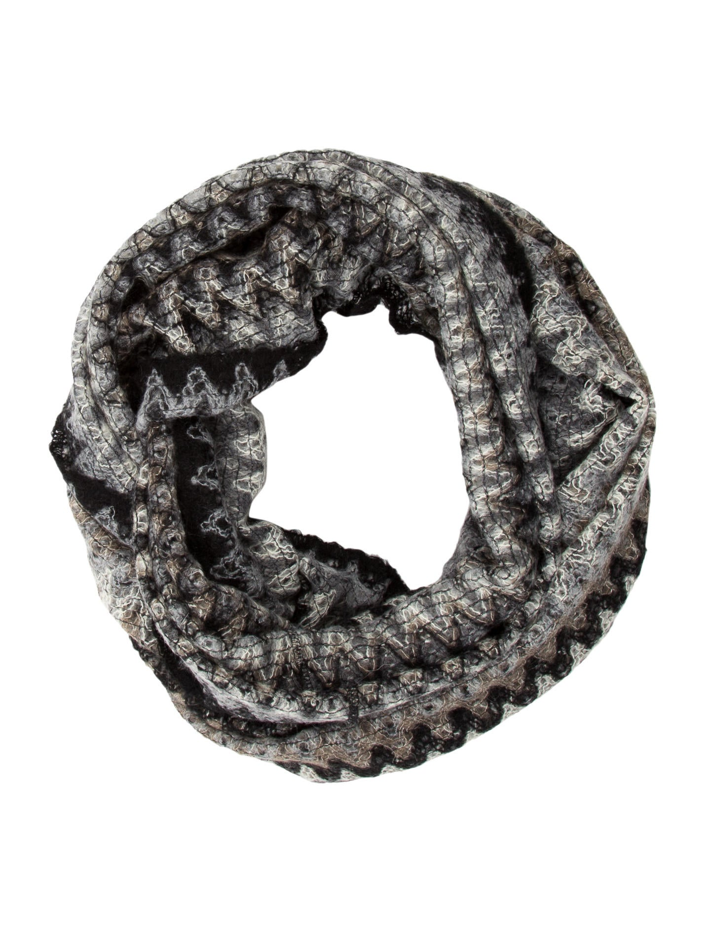 missoni patterned circle scarf accessories mis30936