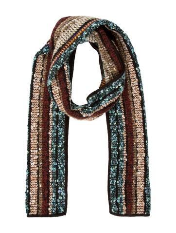 Missoni Multicolor Knit Scarf None
