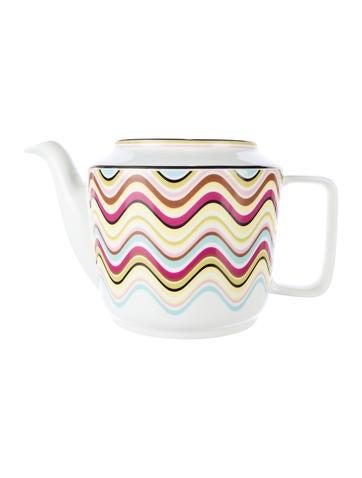 Missoni Porcelain Teapot