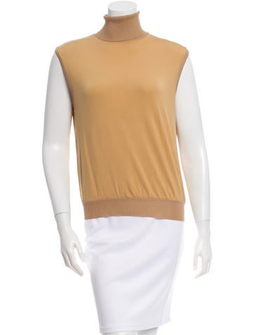 Missoni Sleeveless Turtleneck Top None
