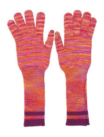 Missoni Wool Multicolor Gloves None