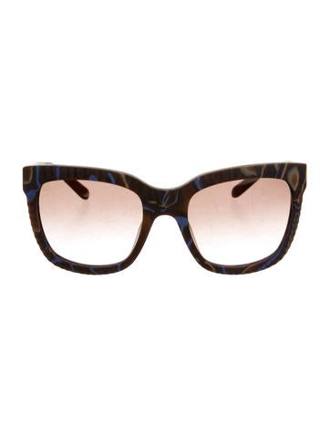 Missoni Oversized Marbled Sunglasses None