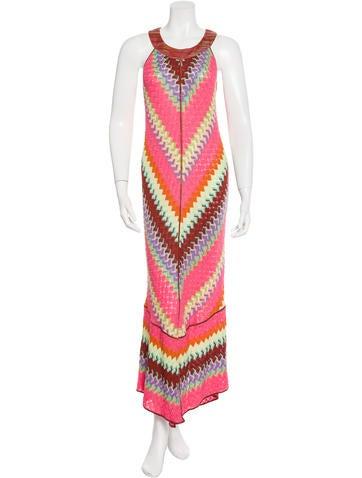 Missoni Crochet Maxi Dress None