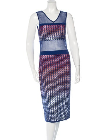 Missoni Knit Midi Dress w/ Tags None