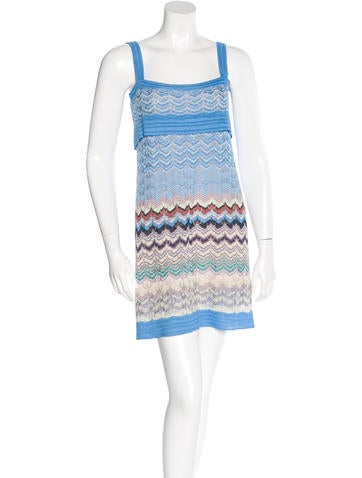 Missoni Patterned Knit Dress None