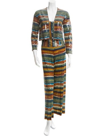 Missoni Silk Three-Piece Set None