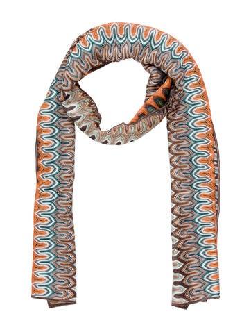 Missoni Intarsia Knit Scarf w/ Tags None