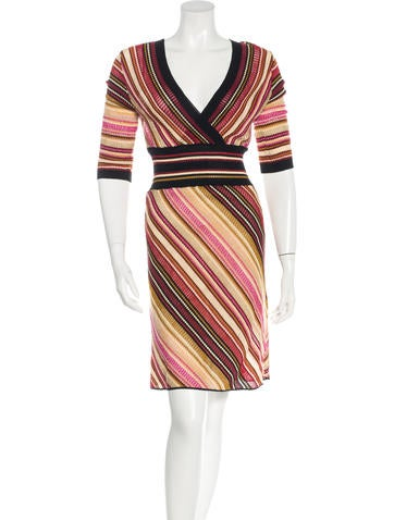 Missoni Wool Patterned Dress w/ Tags None