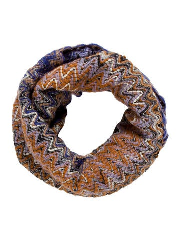 Missoni Striped Infinity Scarf w/ Tags None