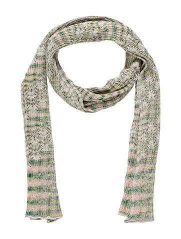 Missoni Striped Knit Scarf None