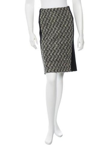 Miu Miu Wool Skirt None