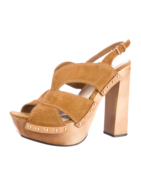 miu miu platform sandals shoes miu31862 the realreal