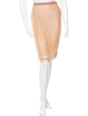 Miu Miu Knee-Length Pencil Skirt None