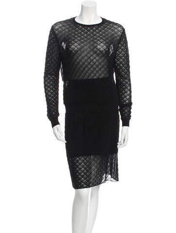 Maison Rabih Kayrouz Patterned Skirt Set None
