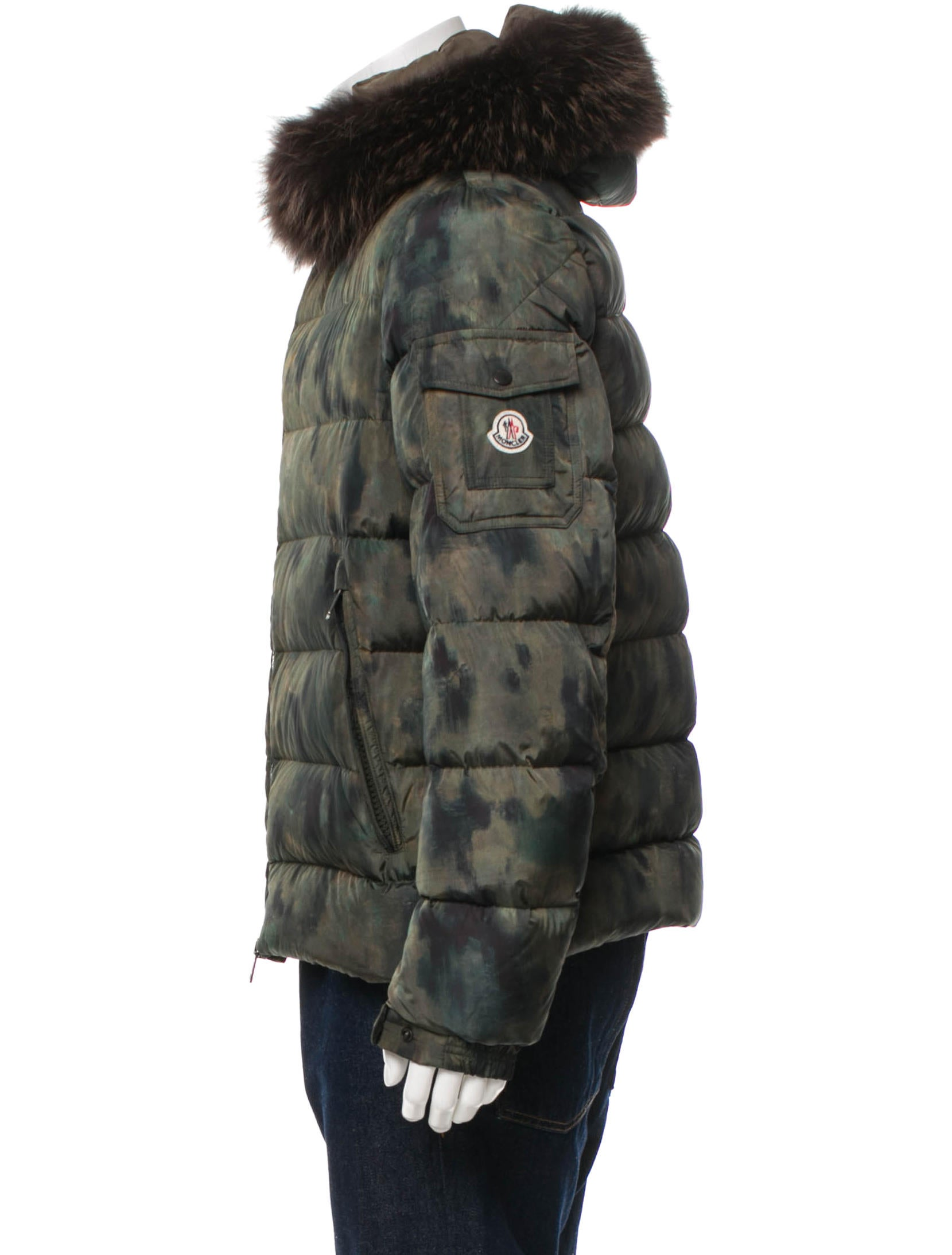moncler jas camouflage