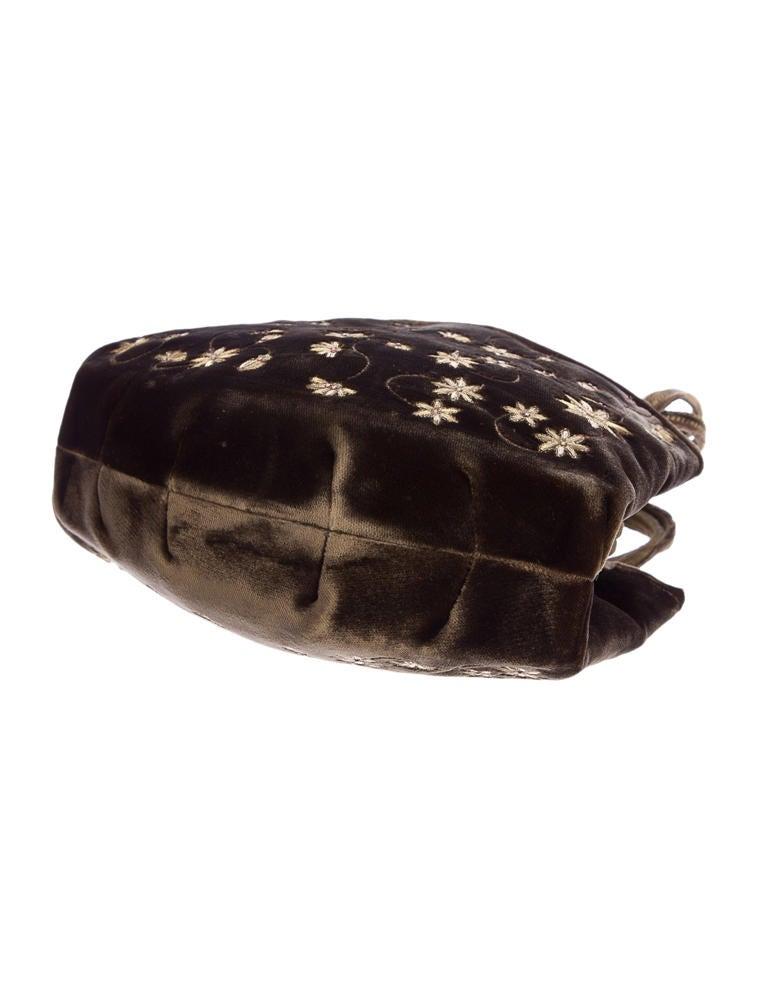 Manolo Blahnik Velvet Frame Bag - Handbags - MOO23803   The RealReal