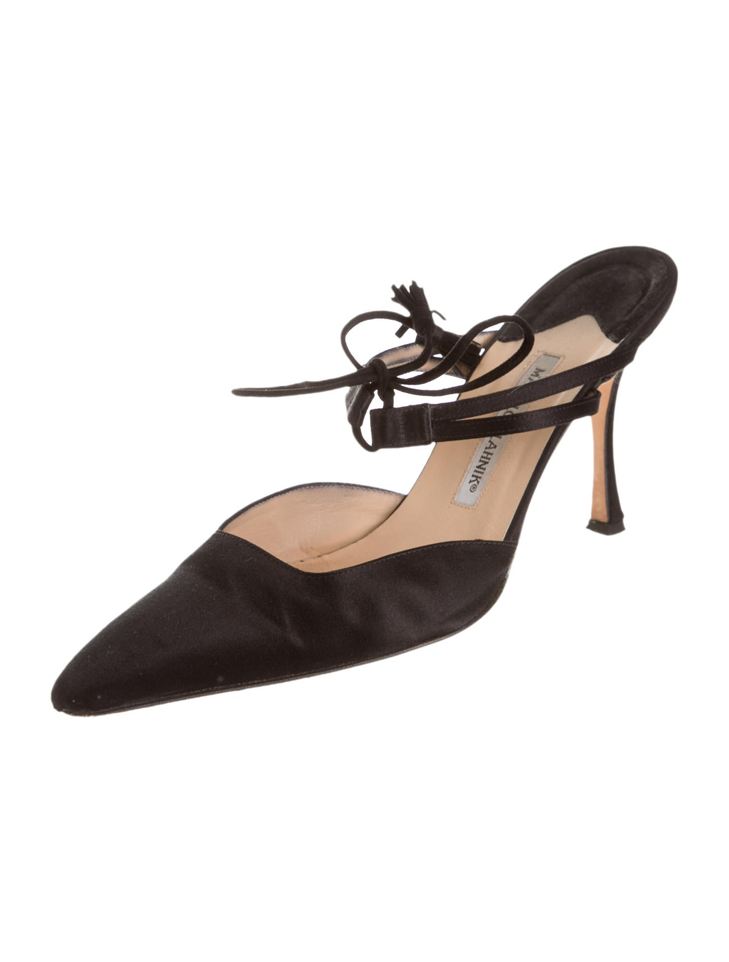 Manolo blahnik pumps shoes moo32983 the realreal for Shoes by manolo blahnik