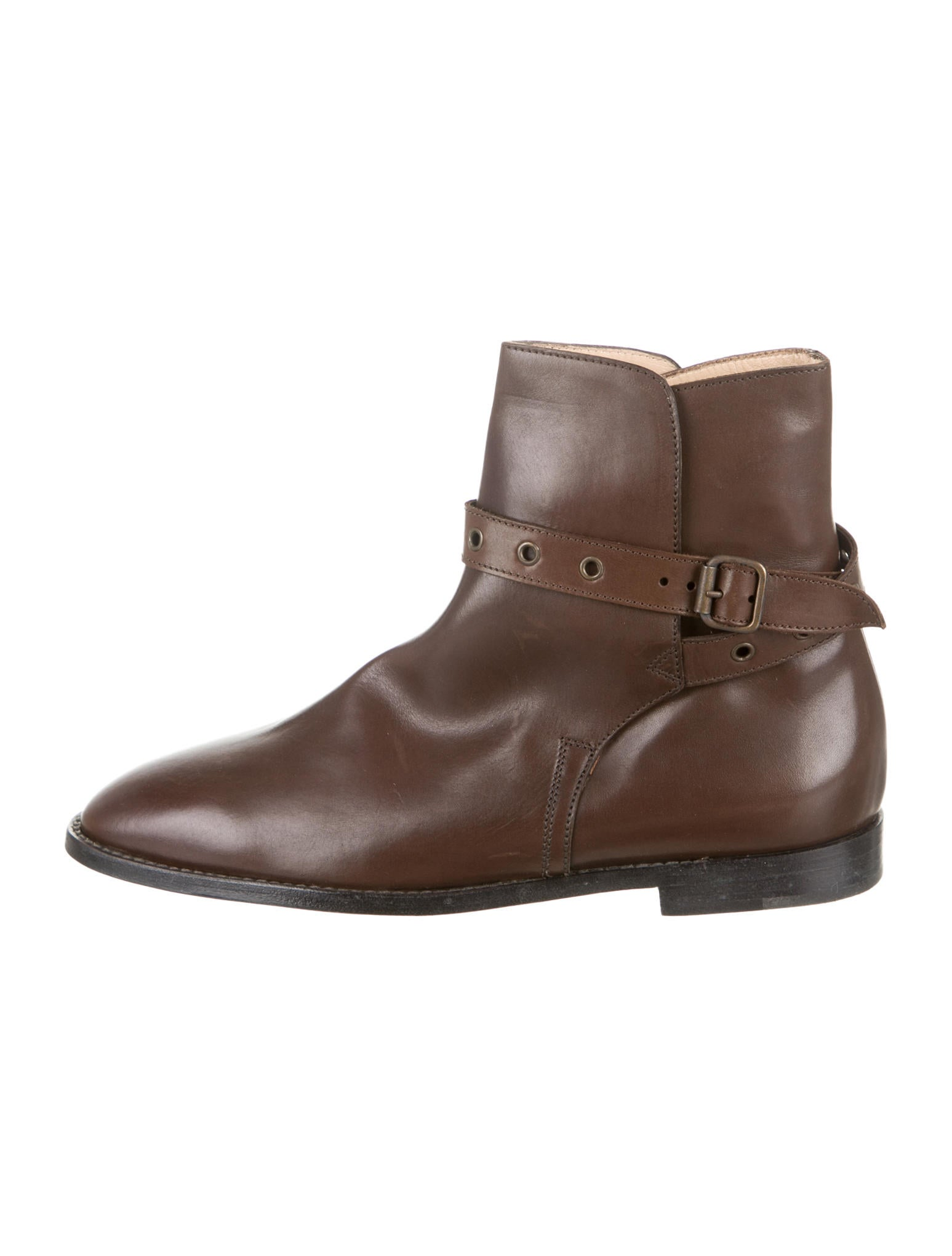 Manolo blahnik boots shoes moo33226 the realreal for Shoes by manolo blahnik