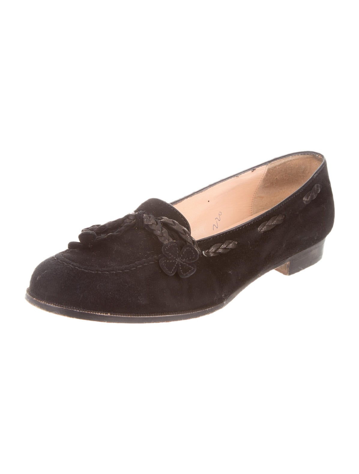 Manolo blahnik round toe loafers shoes moo38590 the for Shoes by manolo blahnik