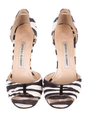 Canvas Sedaraby d'Orsay Pumps