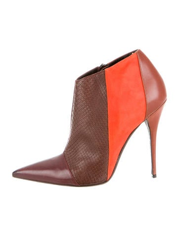 Narciso Rodriguez Pointed-Toe Sarah Booties None