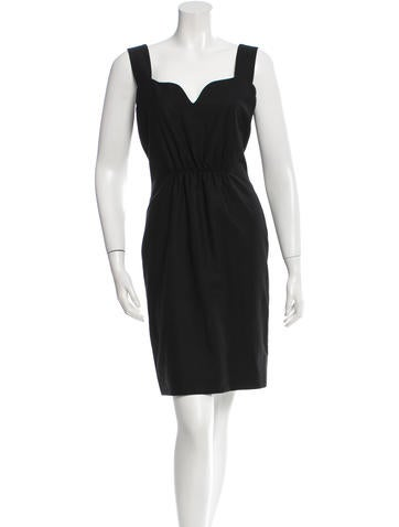 Narciso Rodriguez Virgin Wool Mini Dress w/ Tags None