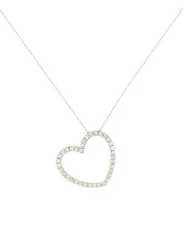 Diamond Heart Necklace None