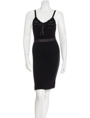 Nina Ricci Wool & Cashmere-Blend Knit Dress None