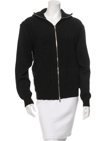Piece d'Anarchive Wool Zip-Up Sweater w/ Tags None