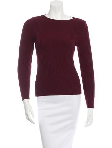 Piazza Sempione Wool Ribbed Sweater None