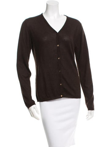 Piazza Sempione Cashmere V-Neck Cardigan None