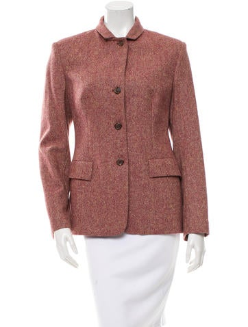 Piazza Sempione Wool Notched Collar Blazer None
