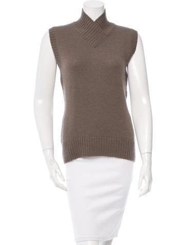 Piazza Sempione Sleeveless Wool Sweater None