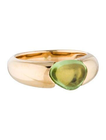 Pomellato 18K Peridot Ring None