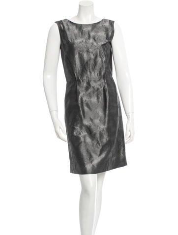Ports 1961 Sleeveless Open Back Dresss None