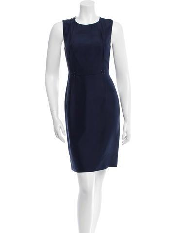 Ports 1961 Silk Sleeveless Dress None
