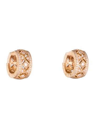 Penny Preville Hinged Diamond Huggie Earrings