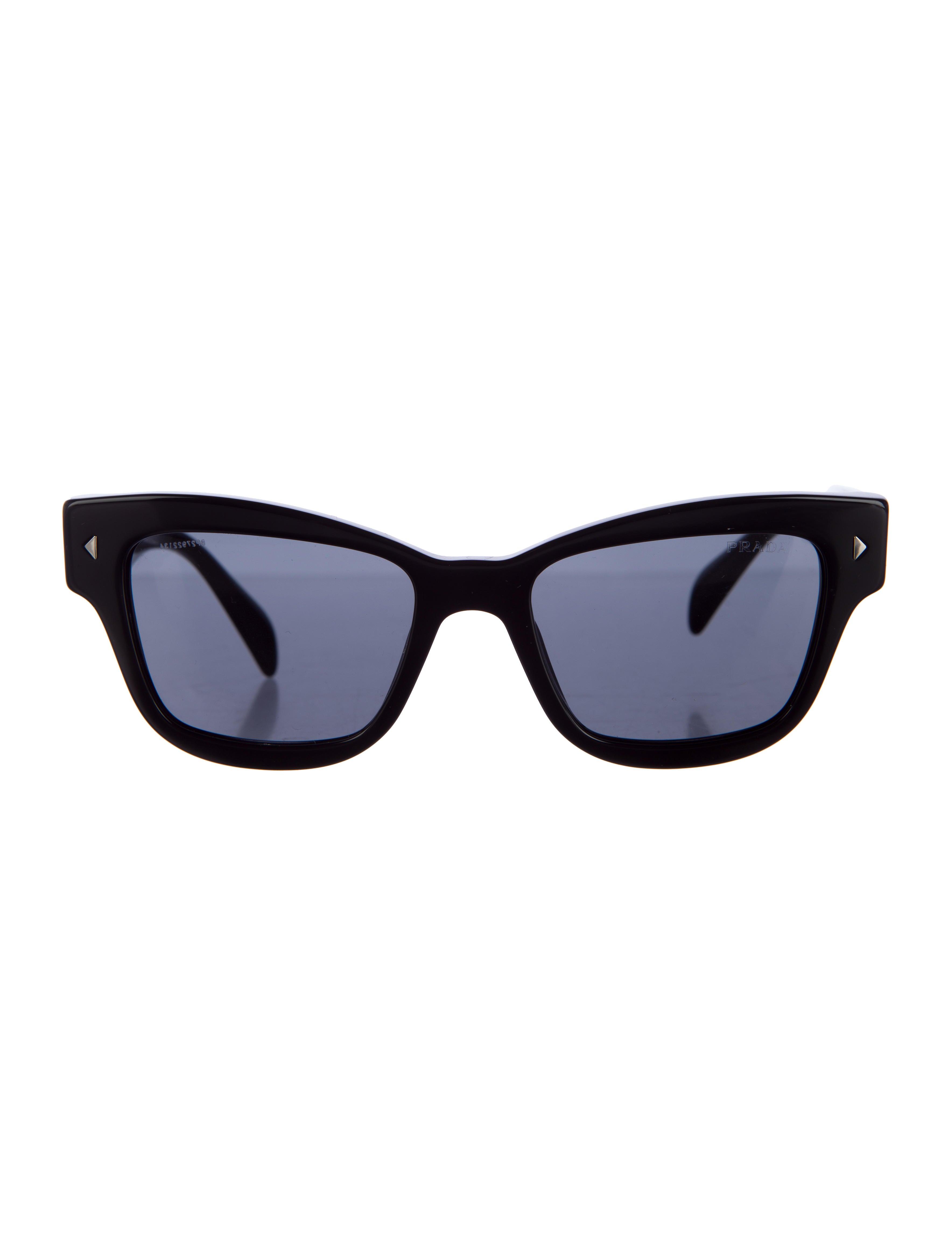 prada tinted wayfarer sunglasses accessories pra100246