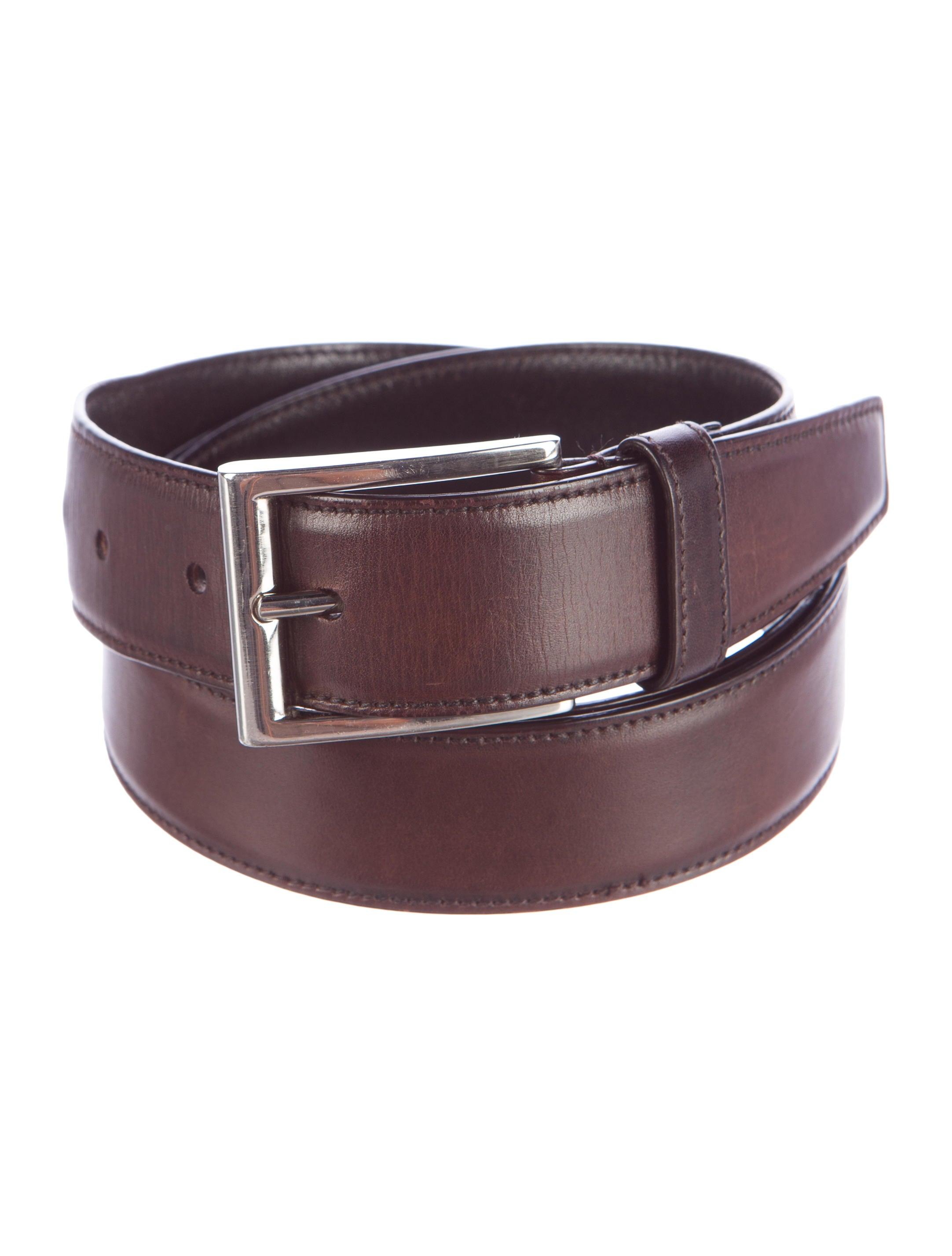 prada leather buckle belt accessories pra100270 the