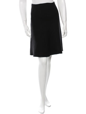 Prada A-line Knee-Length Skirt None