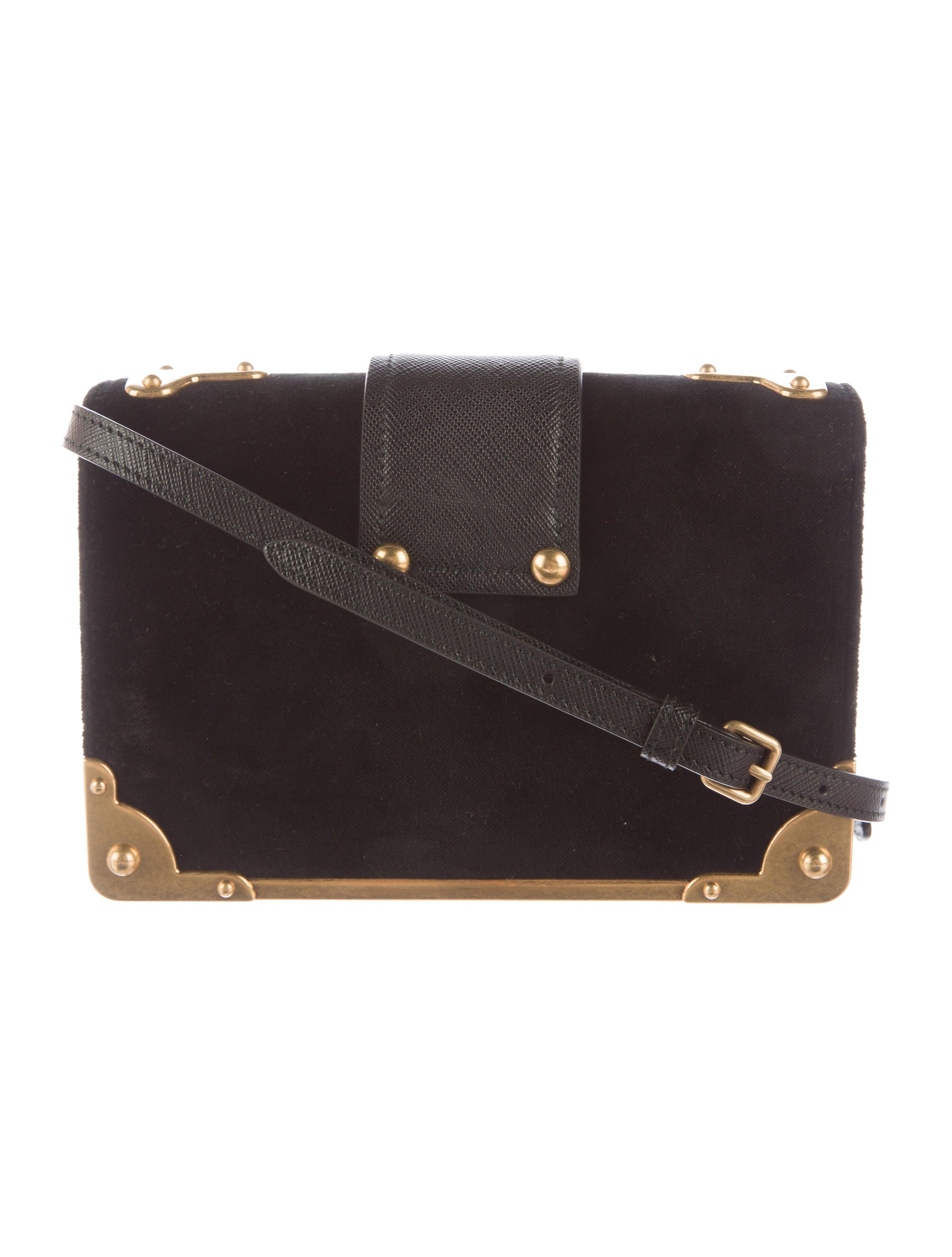 Prada Small Velvet Astrology Cahier Bag - Handbags . c61199a97f51b