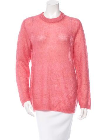Prada Open Knit Sweater None
