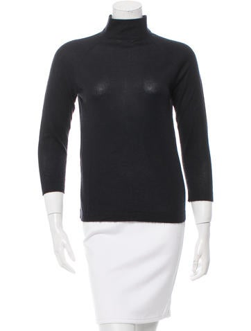 Prada Cashmere Turtleneck Sweater None